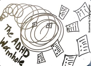 The ADHD Wormhole | Gretchen Wegner | The Anti-Boring Approach to Powerful Studying | Assignments | Homework | Papers | CamScanner