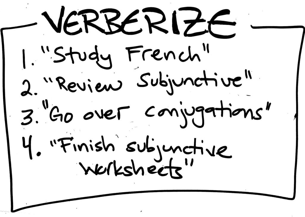 """Gretchen Wegner, The Anti-Boring Approach To Powerful Studying, Academic Life Coach, Academic Coaching, Academic Coach, Why the Word """"Study"""" is the Worst Word to Write in Your Planner, How to study, How to use a planner,"""
