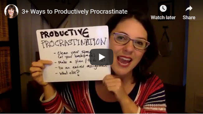 3+ Ways to Productively Procrastinate