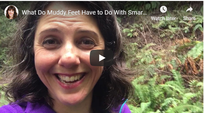 What Do Muddy Feet Have to Do With Smarter Studying?