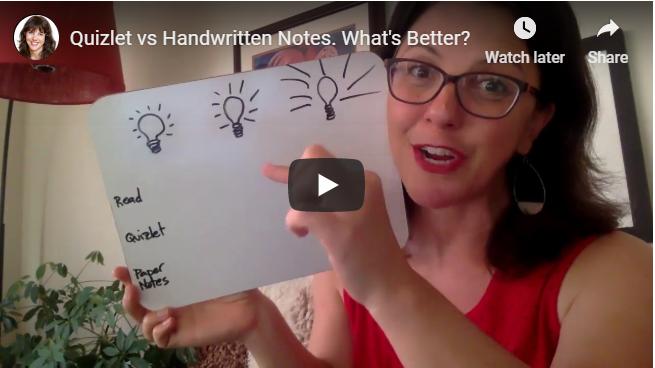 Quizlet vs Handwritten Notes. What's Better?