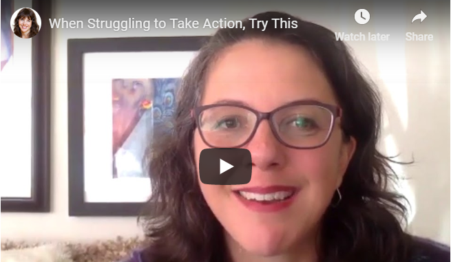 When Struggling to Take Action, Try This Nourishing Task First