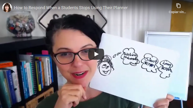How to Respond When a Student Stops Using Their Planner