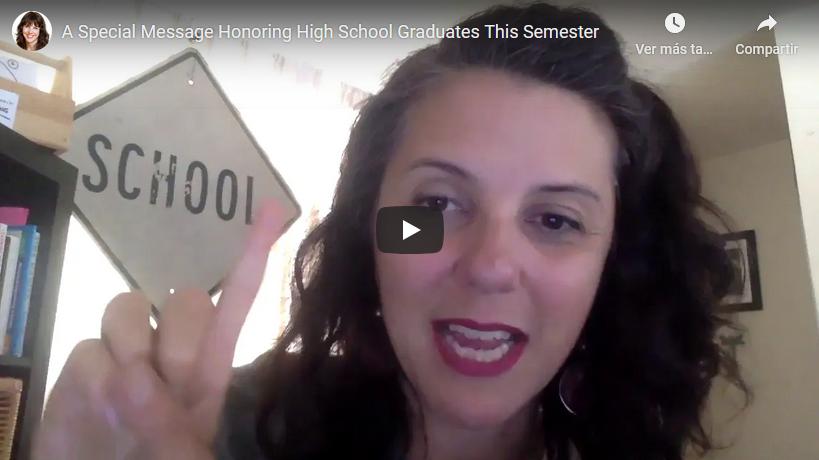 A Heartfelt Message Honoring High School Graduates
