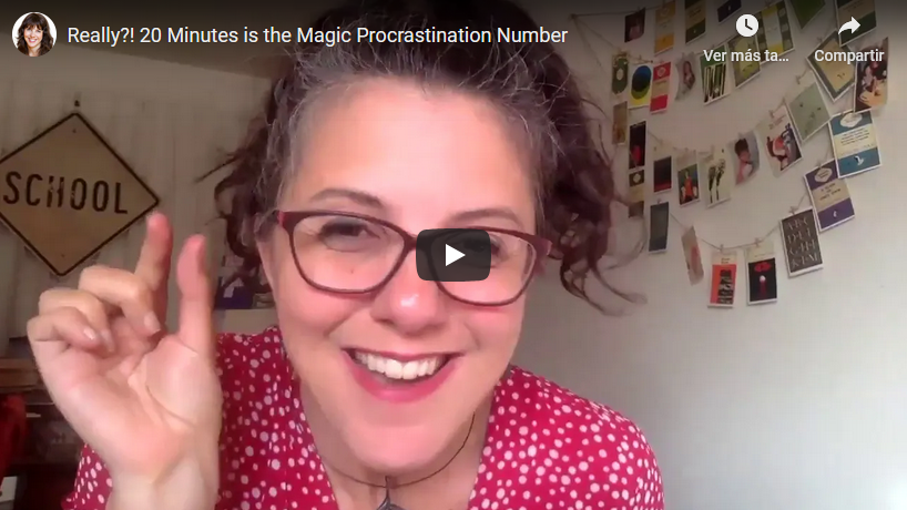 Really?! 20 Minutes is the Magic Procrastination Number