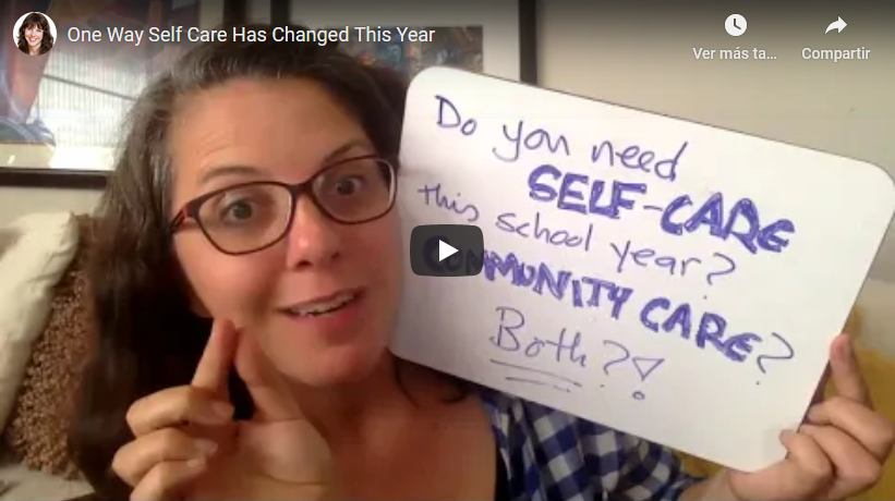 One Way Self Care Has Changed This Year