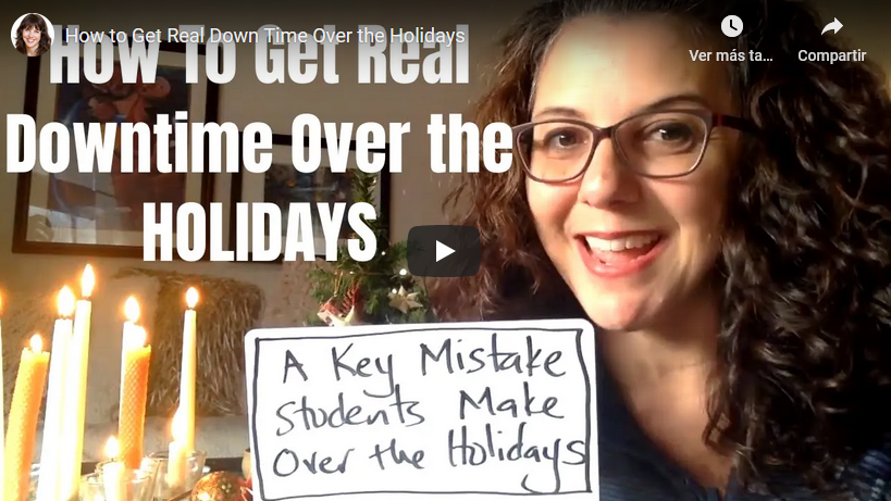 How to Get Real Down Time Over the Holidays