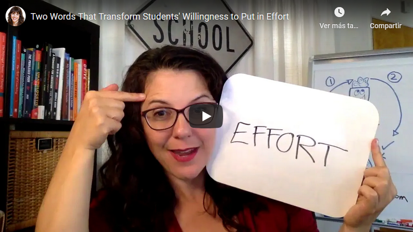 Two Words That Transform Students' Willingness to Put in Effort