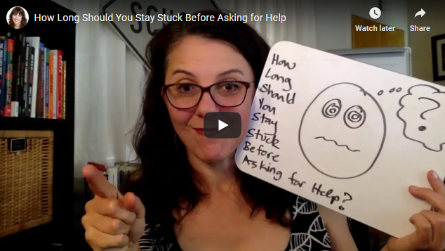 How Long Should You Stay Stuck Before Asking for Help?