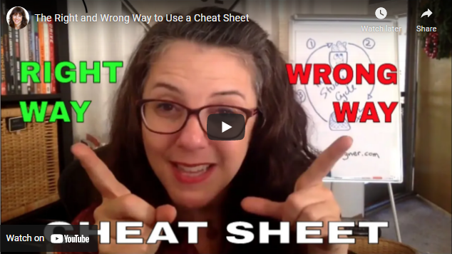 The Right and Wrong Way to Use a Cheat Sheet