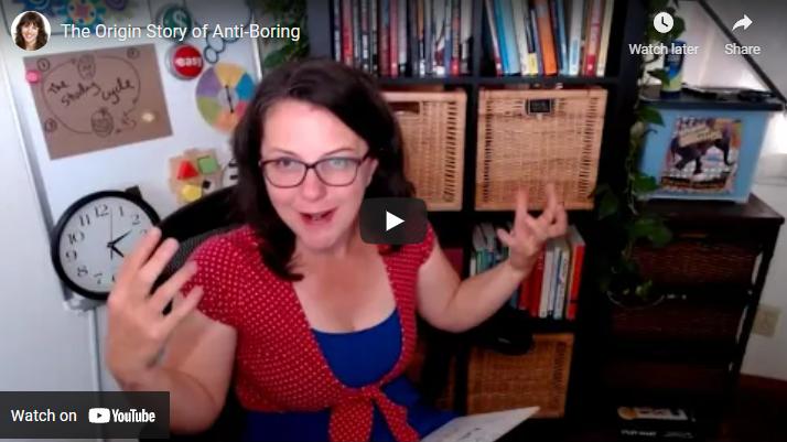 The Origin Story of Anti-Boring