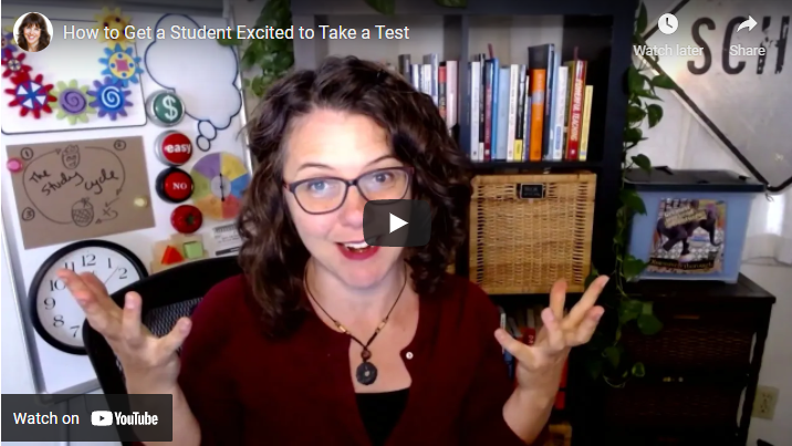 How to Get a Student Excited to Take a Test